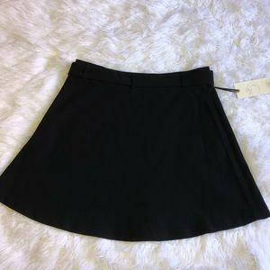 eliane rose Skirts - Black a-line skirt with belt